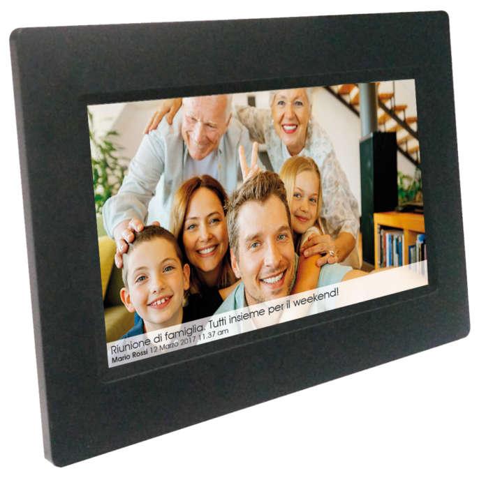 cornice digitale Social Photo Frame Wi-Fi