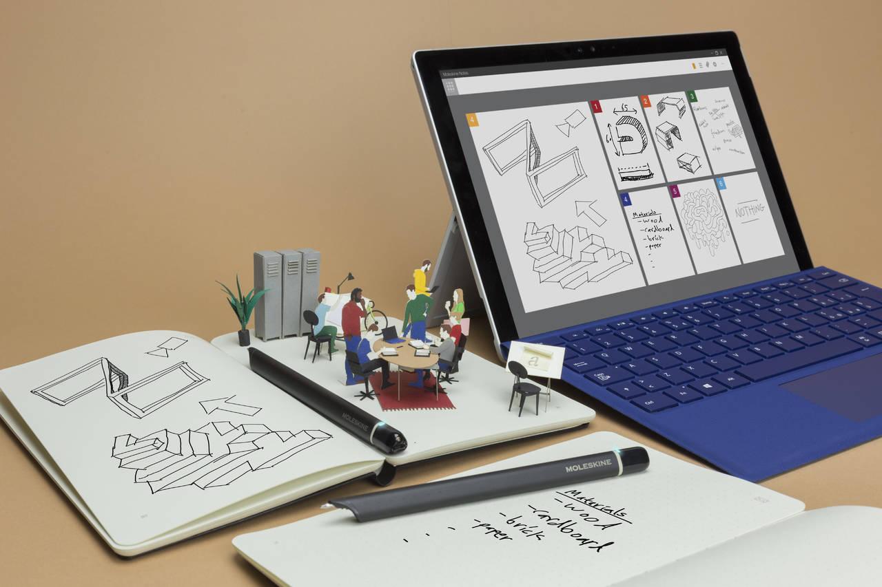 Moleskine Notes App for Windows (2)