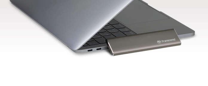 StoreJet 600 per Mac di Transcend