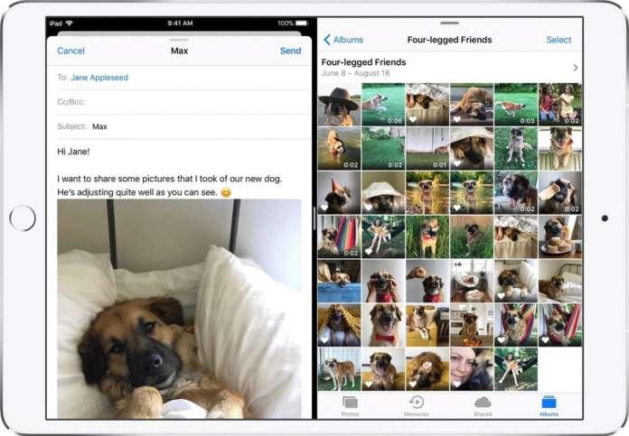 drag and drop su iPad con iOS 11