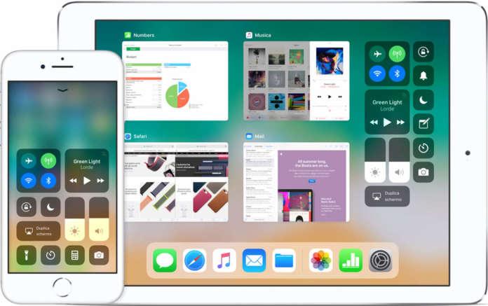 Centro di Controllo di iOS 11