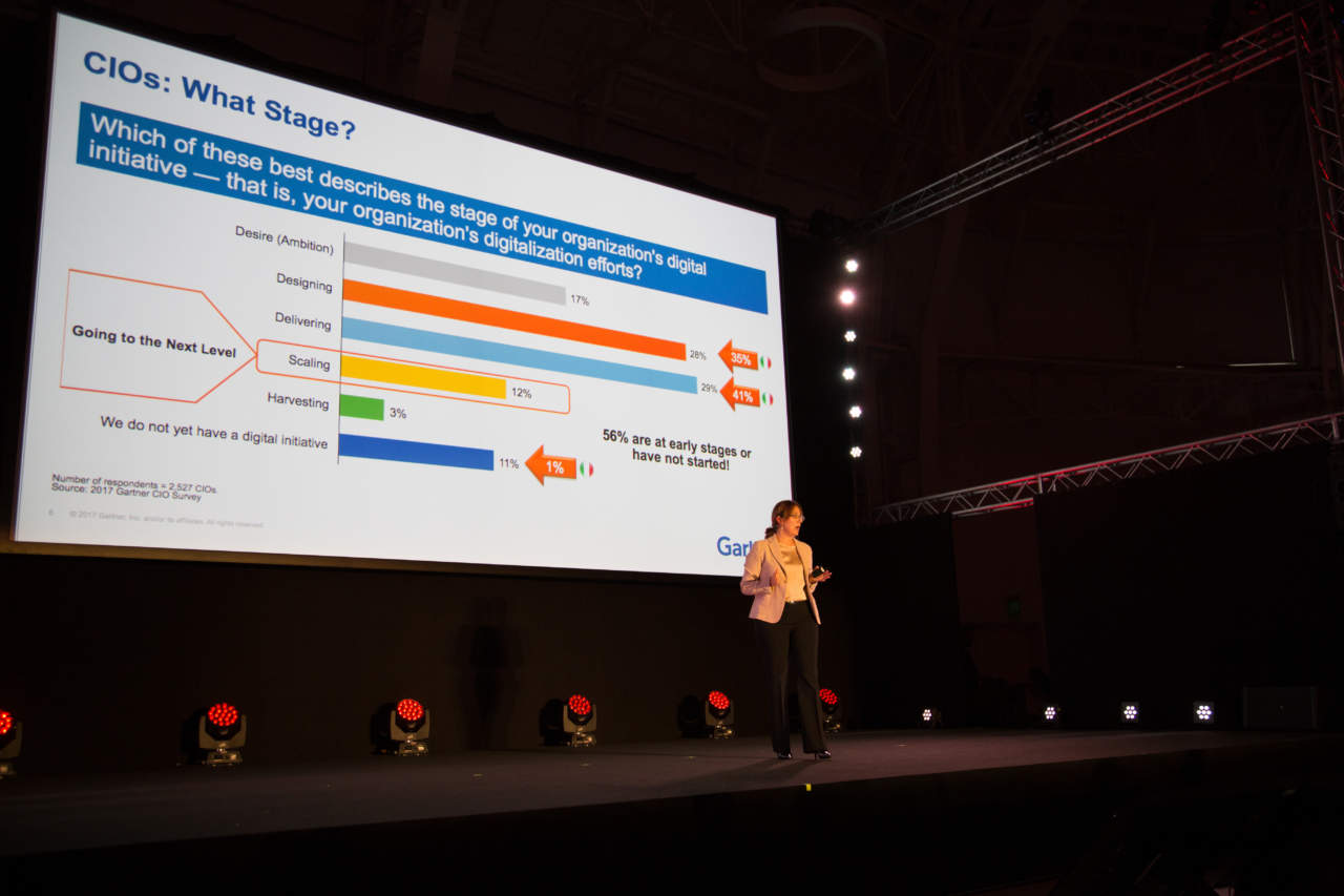 Bianca Granetto, Research Vice President, Gartner's Technology and Service Provider group