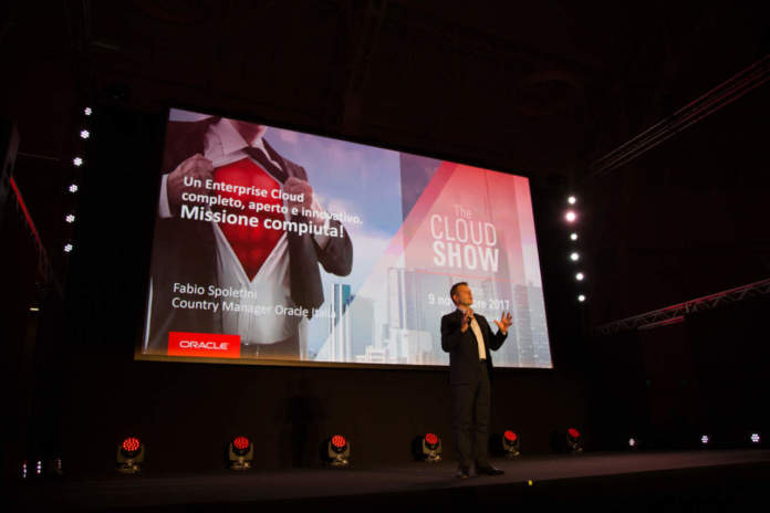 Fabio Spoletini Country Manager Oracle cloud aperto