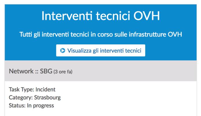 OVH: un down per alcune ore ha bloccato il funzionamento di 01net