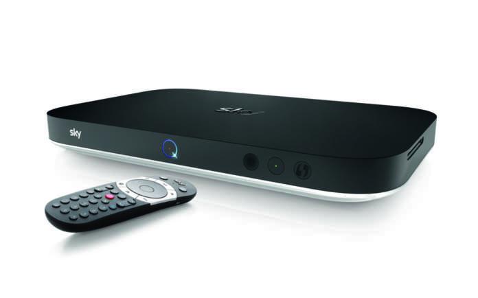 Sky Q Platinum telecomando