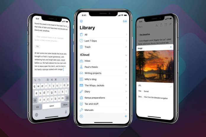 Ulysses iPhone X