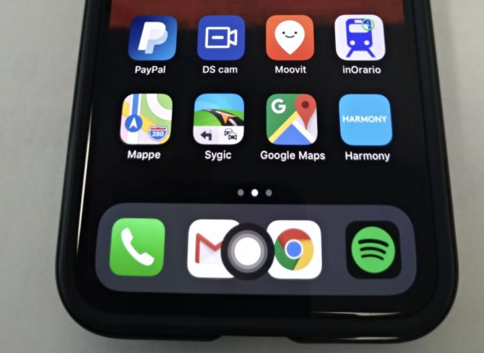 iPhone X tasto home virtuale 1