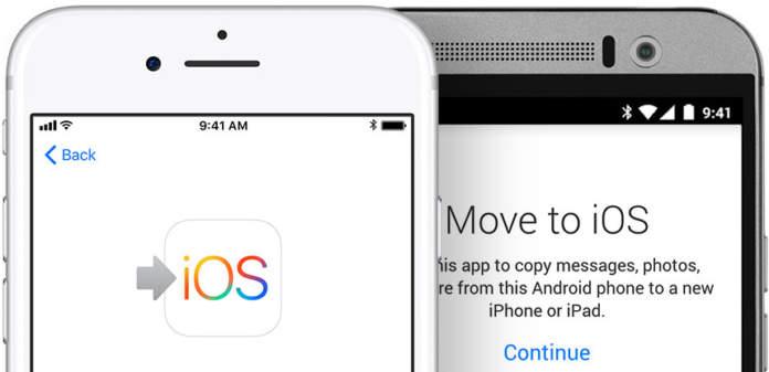 passare da Android a iPhone