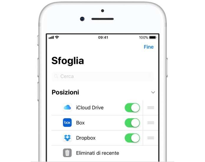File di iOS 11