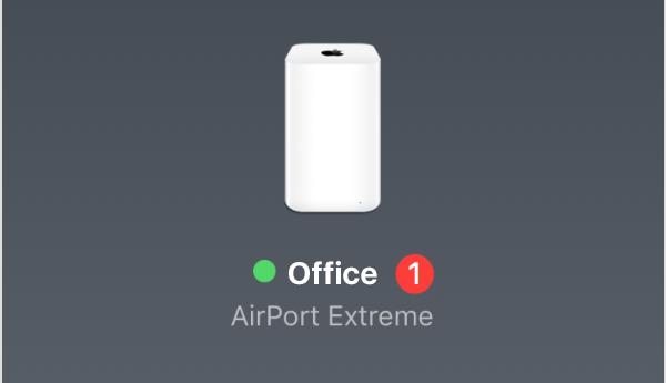 Aggiornamento basi AirPort