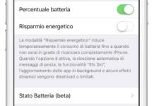 Batteria dell'iPhone iOS 11.3