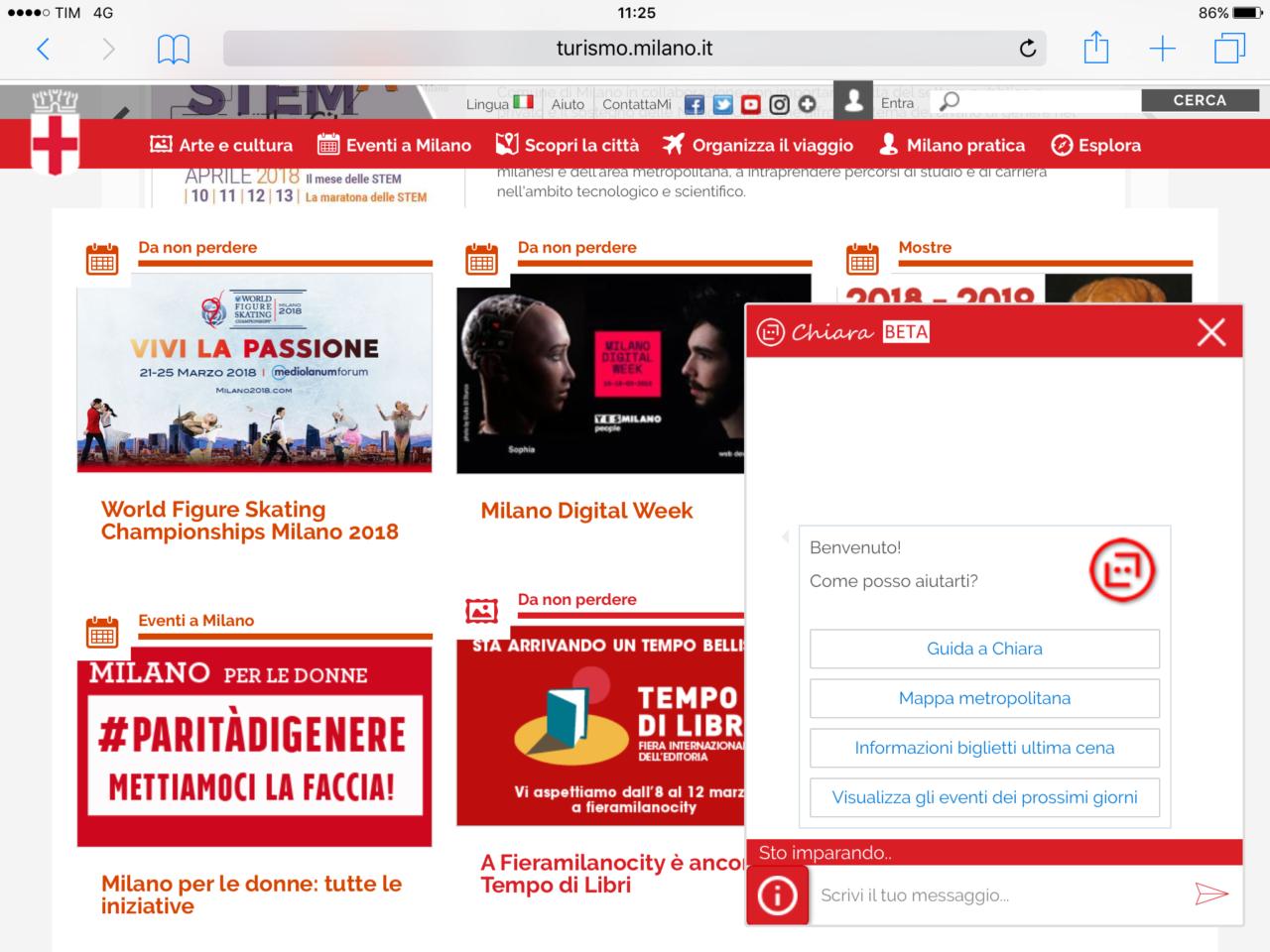 La Milano Digital Week prende il via con un chatbot | 01net