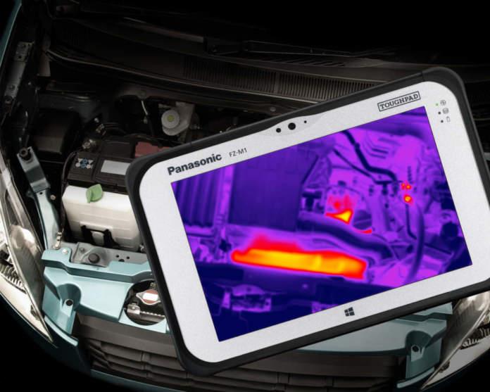 Panasonic Toughpad FZ-M1 Thermal Meccanica