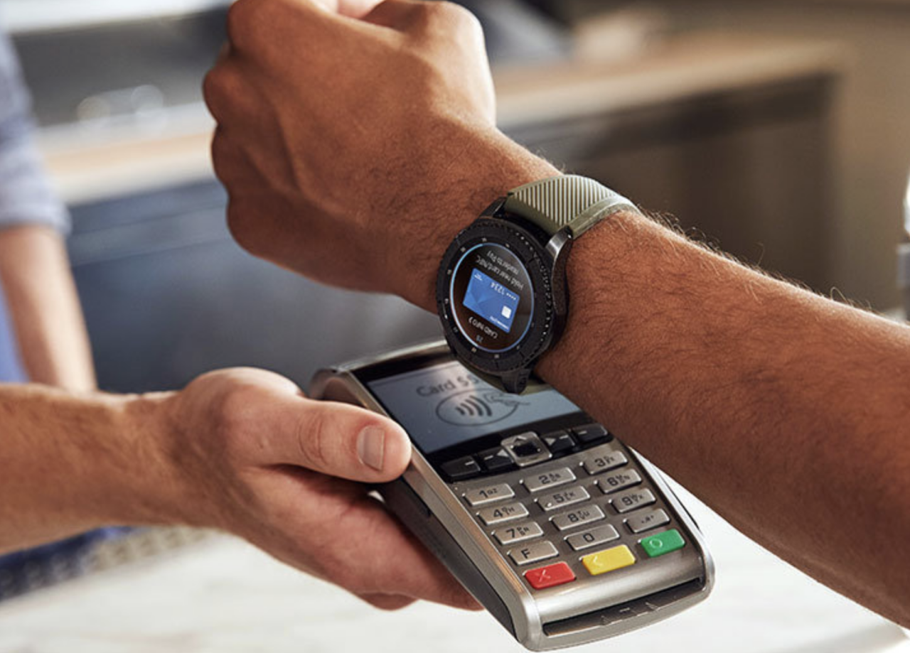 Samsung pay Gear