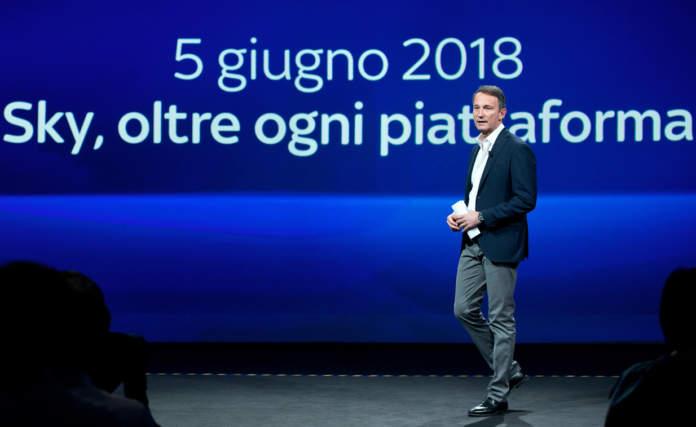 Andrea Zappia CEO Sky Italia