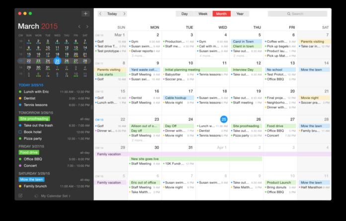 Calendario Per Sito Web.Il Calendario Apple Diventa Piu Smart Con Fantastical Siti