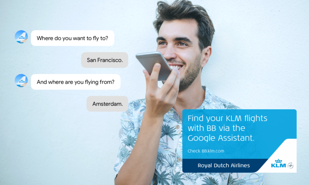 KLM BB Google Assistant