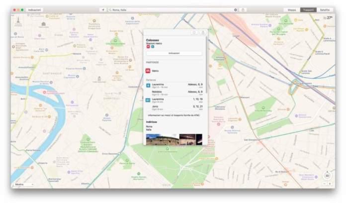 Mappe di iOS e Mac