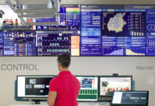 Control room Hiperwall