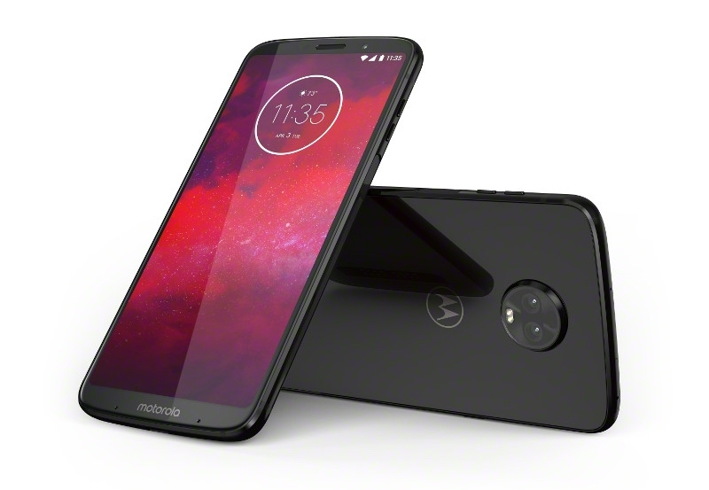 Motorola Ceramic Black Moto Z3, Verizon