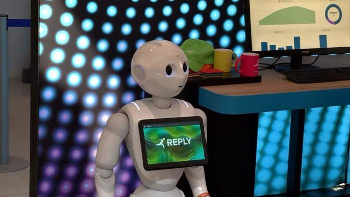 Robot Pepper Reply