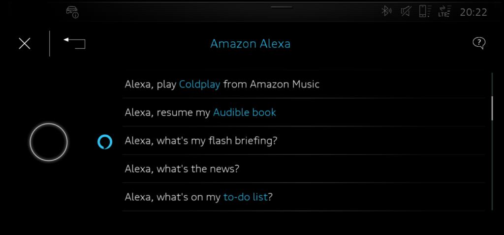 Audi Alexa
