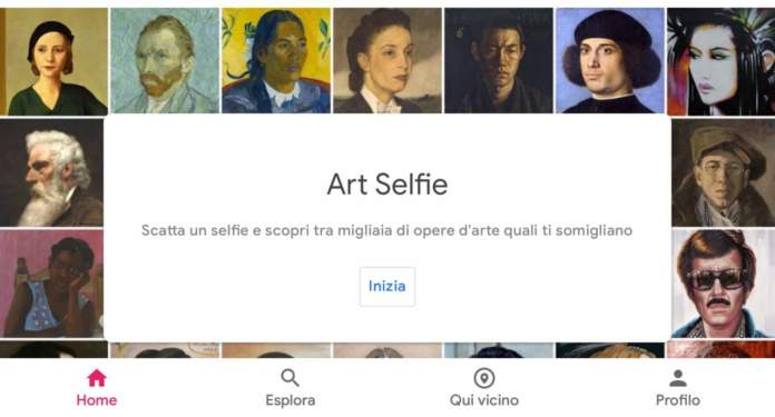 Google Arts & Culture - Art Selfie