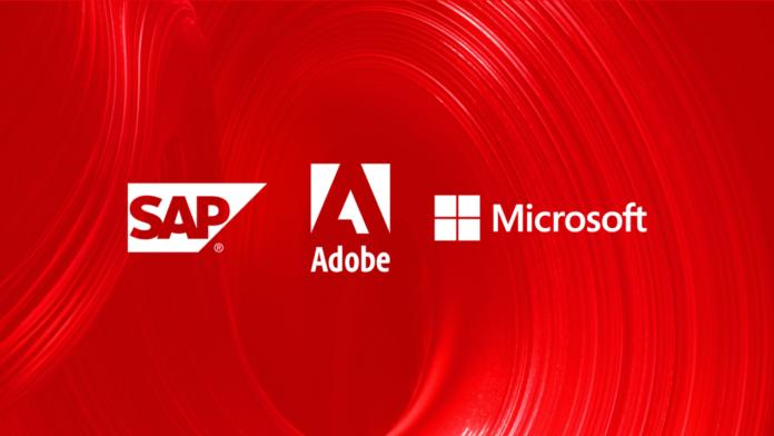 Adobe Microsoft SAP Open Data Initiative