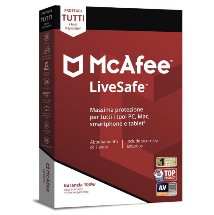 McAfee Live Safe 2018-2019