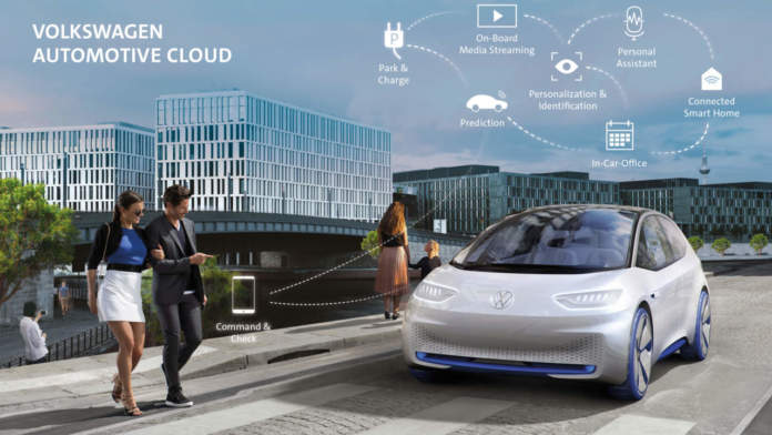 Volkswagen Automotive Cloud Microsoft