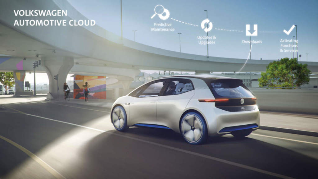 Volkswagen Automotive Cloud Microsoft auto connesse