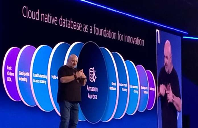AWS Werner Vogels database erverless