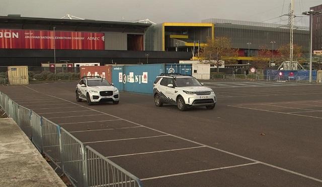 Huawei Vodafone Jaguar Land Rover auto connesse