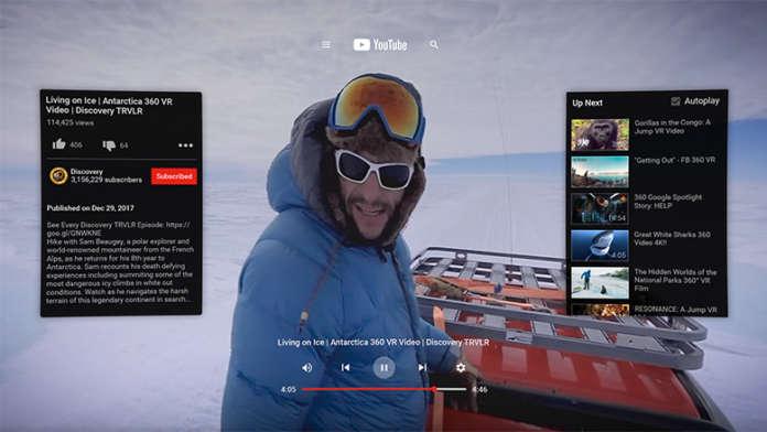 YouTube VR Oculus Go
