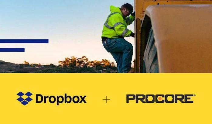 Dropbox e Procore