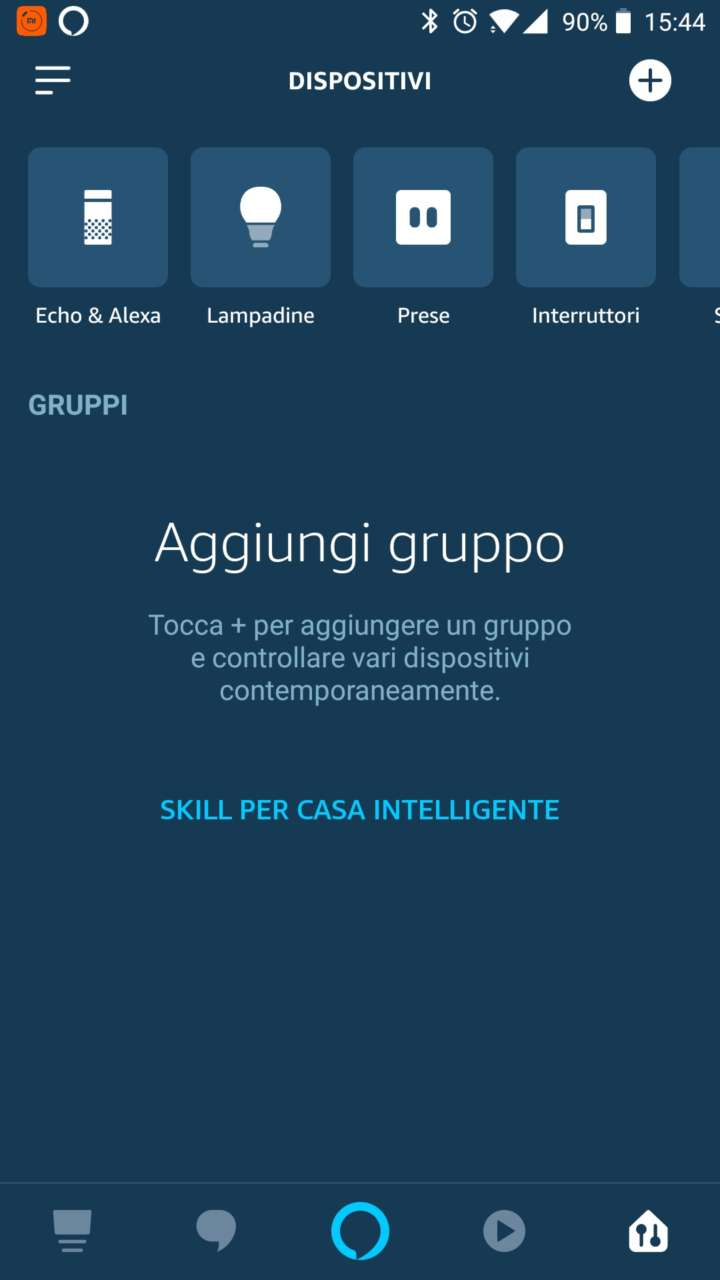 L'app di Philips per i dispositivi intelligenti Hue