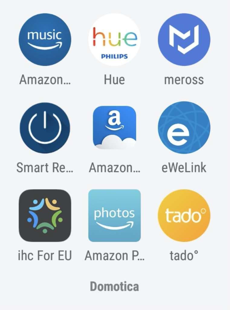 Alexa App domestica