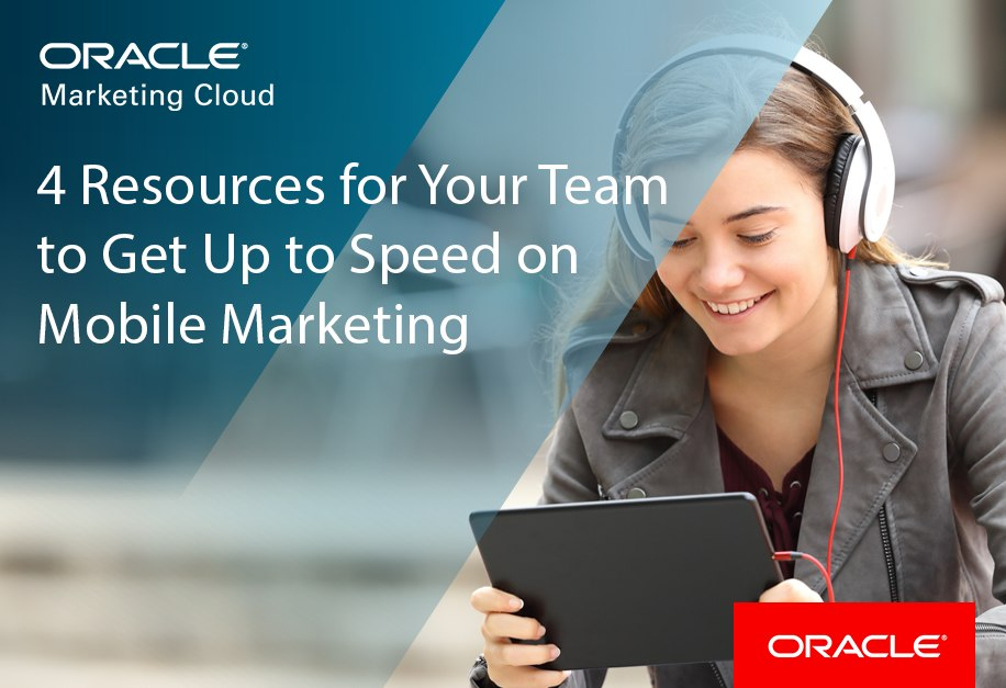 Oracle mobile marketing