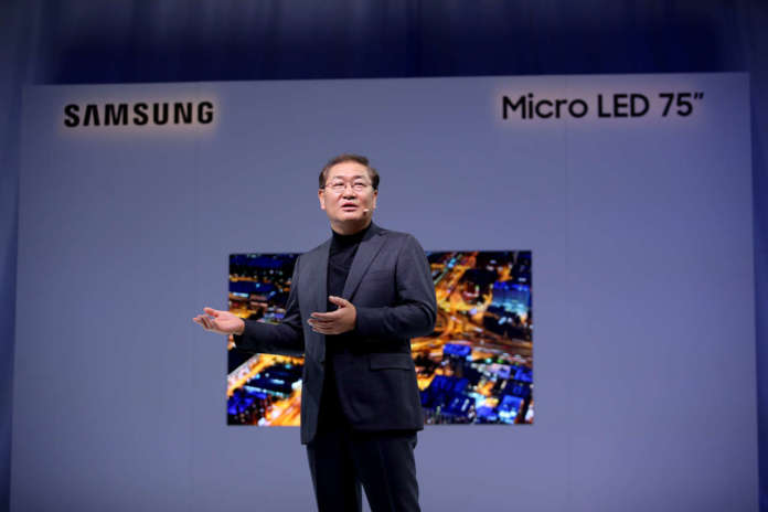 Samsung-Micro Led FL2019_JH-Han_On-the-stage