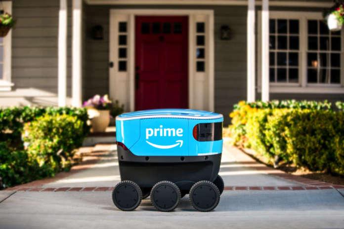 Si chiama Scout il robot di Amazon per le piccole consegne