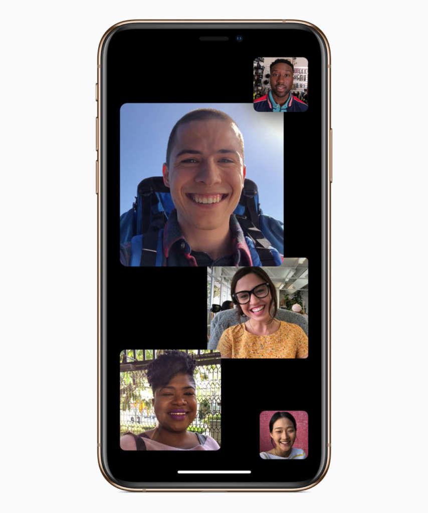 facetime chat di gruppo