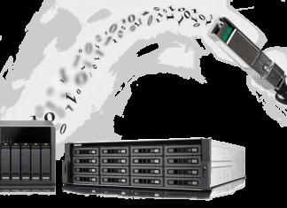 QNAP NAS con connettività 10GbE