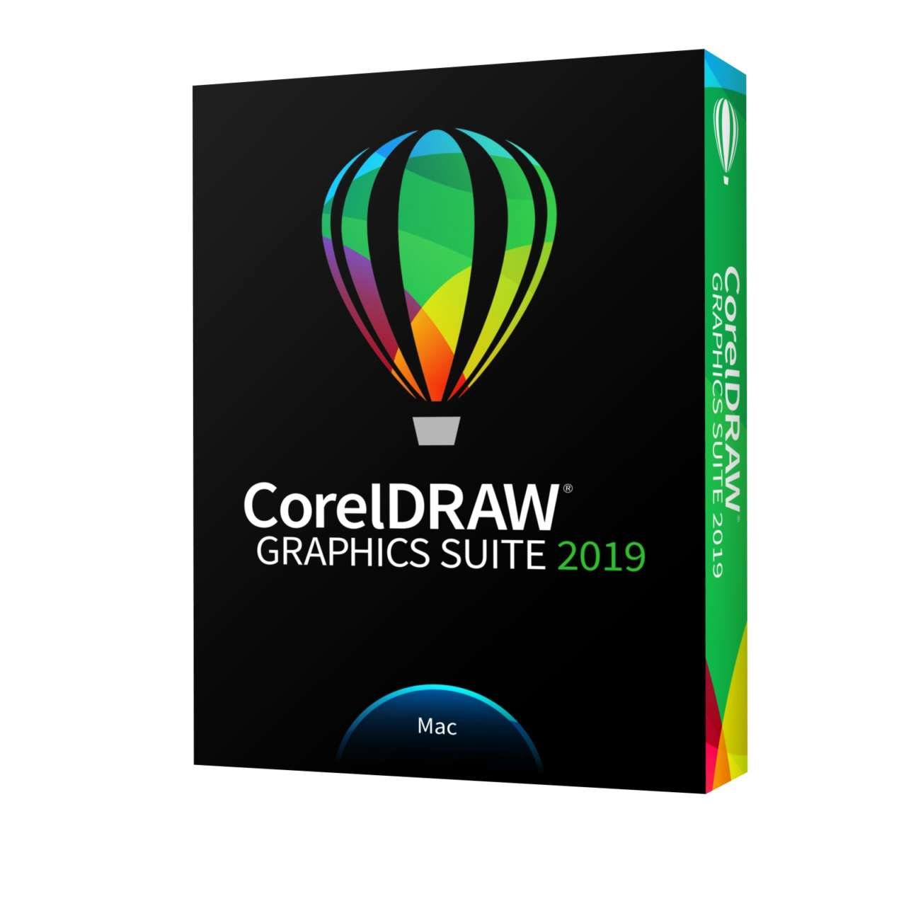 CorelDRAW Graphics Suite 2019 for Mac Left