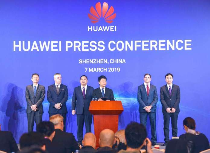 Huawei Press Conference 20190307