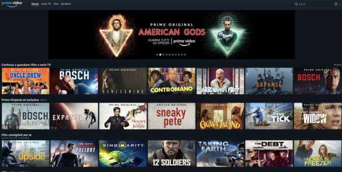 Prime video Subscription video on demand