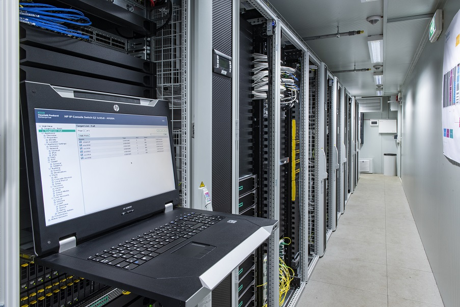 It e data center
