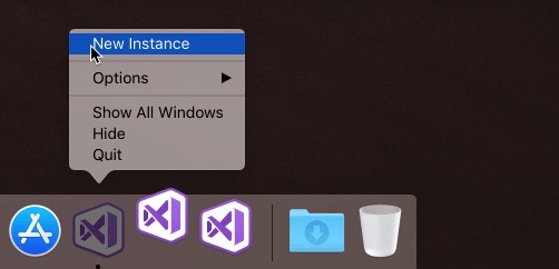 Visual Studio 2019 per Mac