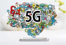 5G smartphone TV