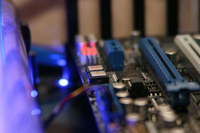 Pcie motherboard