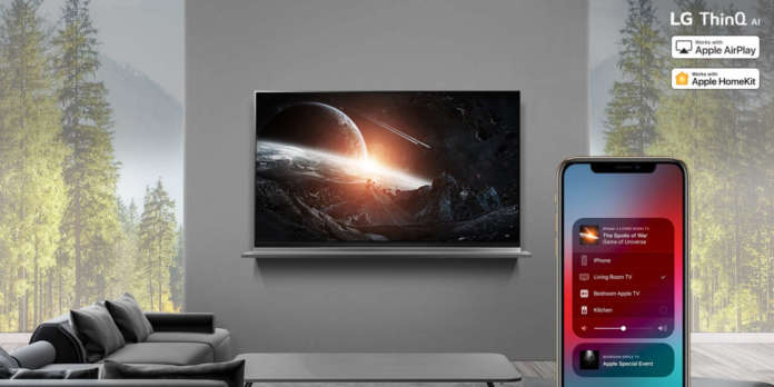 AirPlay2 TV LG ThinQ AI 2019